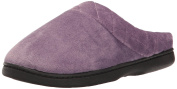 Dearfoams Women's Microfiber Velour Clog Slipper