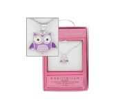 Equilibrium For Girls - Owl Necklace