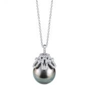 13mm Tahitian South Sea Cultured Pearl & Crystal Anais Pendant