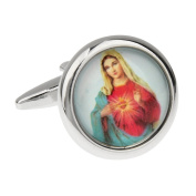 Religion Catholic Church Virgin Mary Cufflinks Cuff Links