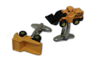 Lorry and Digger Cufflinks