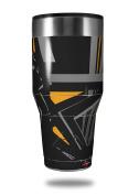 Skin Decal Wrap for Walmart Ozark Trail Tumblers 1180ml Baja 0023 Orange (TUMBLER NOT INCLUDED) by WraptorSkinz