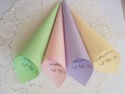 100 Confetti Cones, Paper Cones, Wedding Petal Cones,Cones for Confetti,Wedding petal cones Confetti,Wedding cones,Paper Cones