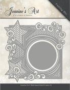 JAD10006 Find It Trading Jeanine's Art Die-Christmas Classics Star Frame