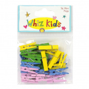 Whiz Kids by Rachel Ellen - Card Craft Decorative Embellishment Mini Pegs