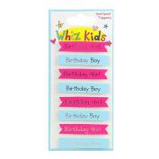 Whiz Kids by Rachel Ellen - Card Craft Embellishment Sentiment Toppers