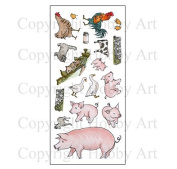 Hobby Art Clear Stamps Animals CS153D
