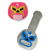 Fred TONGUE TIES Cord Keepers, Luchadores, Set of 2