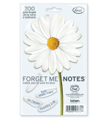 Fred and Friends FORGET ME NOTES Daisy Petal Sticky Notes