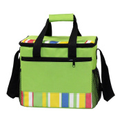Odowalker Insulated Deep Cooler Lunch Bag with Hard Liner, Handle and Shoulder Strap for Picnics, Beach and Travel