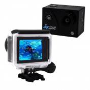 Action Camera 4K Ultra HD 16.0 MP WIFI 1080p 60fps 170 Degree Wide Angle 5.1cm LCD Screen