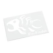 Fin-Finder Decal
