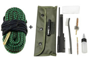Perfect Global New Gun Cleaning Kits Bore Cleaning .22cal 5.56mm .223 556 Calibre with Durable Pouch Accessories Gun Cleaning set