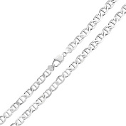 Bling Jewellery Mens 925 Sterling Silver Italian Marina Link Chain Necklace 150 Gauge