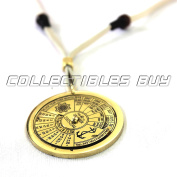 Nautical forty years calendar 2005-2044 necklace shiny brass Maritime Unique Replica For mariners