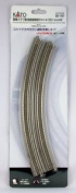 New Kato 20-187 *r414/381mm Double Slab Track 45 Degree Curve