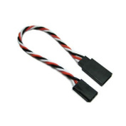Etronix 10cm 22awg Futaba Twisted Extension Wire - Et0731