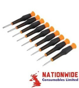 245004, Silverline Precision Screwdriver Set Torx 9pce, Precision Screwdriver