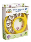 Halilit Baby Tambourine Musical Instrument Colours Vary