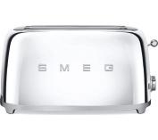 Smeg Tsf02ssuk 4-slice Toaster - Chrome