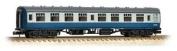 Graham Farish 374-055e 1:148 N Scale Br Mk1 Corridor Second Sk Blue & Grey