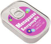 Women's Menopause Emergency Survival Kit In A Sardine Can
