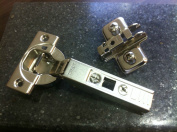 Blum Soft Close Hinges 71b3550/ 20 Hinges Including Hinge Plate And Screws
