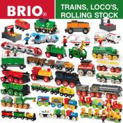 Brio Wooden Railway Trains, Locomotives & Rolling Stock - Full Range