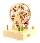 Exquisite Ferris Wheel Music Box Decoration, Gift for Christmas or Birthday