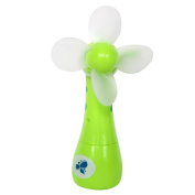 Vibola Mini Fan Portable Kids Toys Manual Hand Handheld No Battery Operated For Cooling