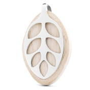 Bellabeat Leaf Nature Health Tracker/Smart Jewellery, Silver Edition