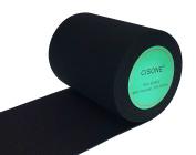 Knit Elastic Bands, 7.6cm Wide Black Heavy Stretch High Elasticity Knit Elastic Band 3 Yards