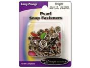 Snapsource SNS75184 Snap Sz 18 Pearl Multi Pak Bright