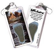 Grand Canyon, AZ FootWhere Souvenir Zipper-Pull