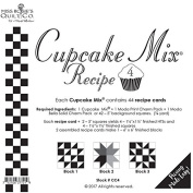 Moda Cupcake Mix Recipe Foundation Paper Pattern Pad #4