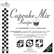 Moda Cupcake Mix Recipe Foundation Paper Pattern Pad #1