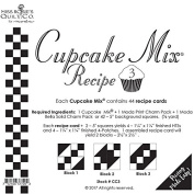 Moda Cupcake Mix Recipe Foundation Paper Pattern Pad #3