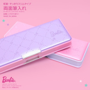 It is extreme popularity _product made in Japan_ 4560182210315 [Jitsu160708A] for Barbie _Barbie_ both sides pencil case _pen case_ two colours _Barbie Shinnyu study, limited series_ girl