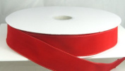 Wired Traditional Red Velvet Christmas Ribbon 3.8cm #9 - 50 Yards