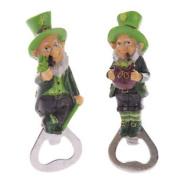 (1x) Novelty Lucky Leprechaun Bottle Opener