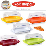 Rosti Mepal Butter Dish Box In Various Colours, Indoor Or Outdoor Use