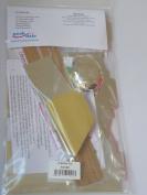 Peakdale Cracker Making Kit Metallic 12 , Silver Hats Snaps Jokes Ribbon Etc