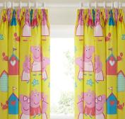 Peppa Pig Curtains 54s - Seaside