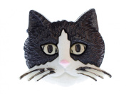 Cats head Brooch Miniblings cat head cat Brooch pin Button Buttons Cat