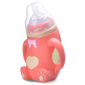 Wide Calibre Baby Temperature Explosion Anti-colic Care System Bottle 240ml Multi-colour Optional,O-160ml
