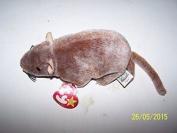 Ty~tiptoe The Rat Beanie Baby Rare