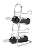 Hahn Pisa Black Or Chrome Freestanding Wine Rack, 4, 6, 10 Or 12 Bottle