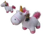 "MINIONS UNICORN OF AGNES PLUSH TOY 12"" (30CM) COLOUR WHITE AND PINK. GOOD QUALITY SOFT. FILM ""DESPICABLE ME"""