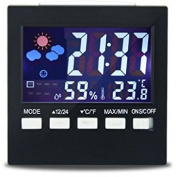 Room Thermometer, Otao Colour Digital Lcd Screen Multifunctiona