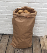 10 X Nutley's 25kg Paper Potato Sacks Harvest Store Vegetables